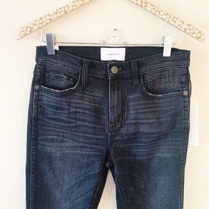 NWT Current/Elliott high waist stiletto skinny 27